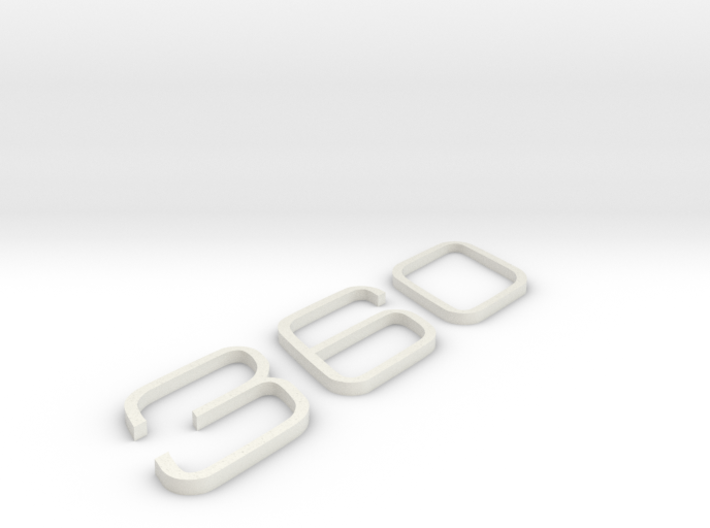 KEYCHAIN 360 INSERTS 3d printed