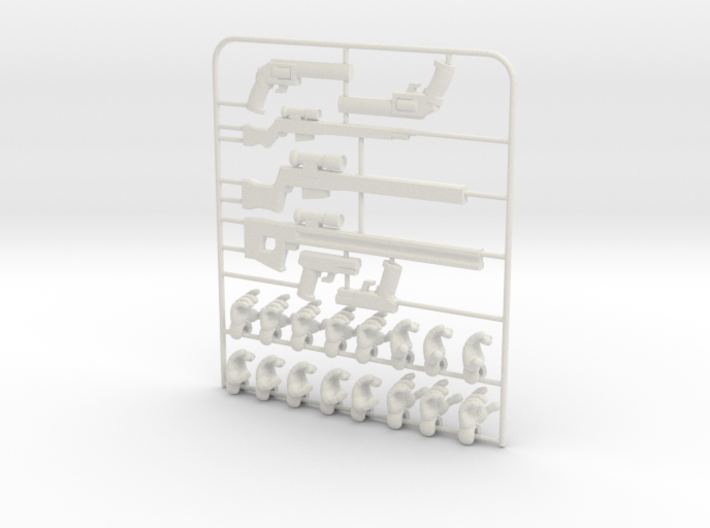 Ersatz MkII Weapons 3d printed