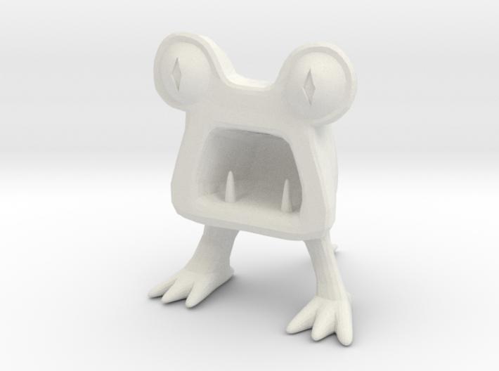 Horrible Monster Figurine 3d printed