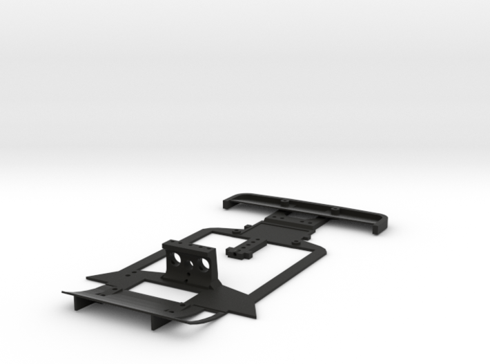 Subchassis V2 Chevron 3d printed