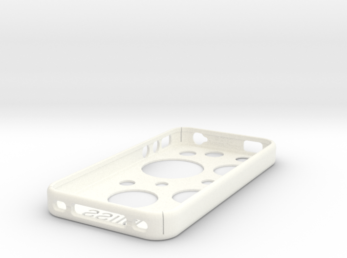 Iphone4S Case Template edit circles 3d printed