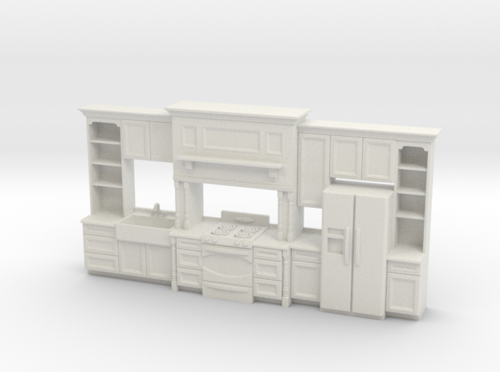 1:48 Farmhouse Kitchen E 3d printed
