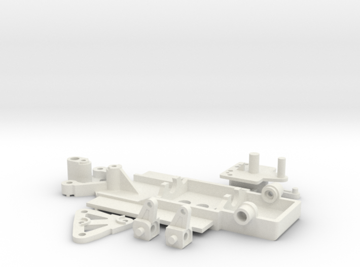 Steering Chassis Co Creator 3d printed