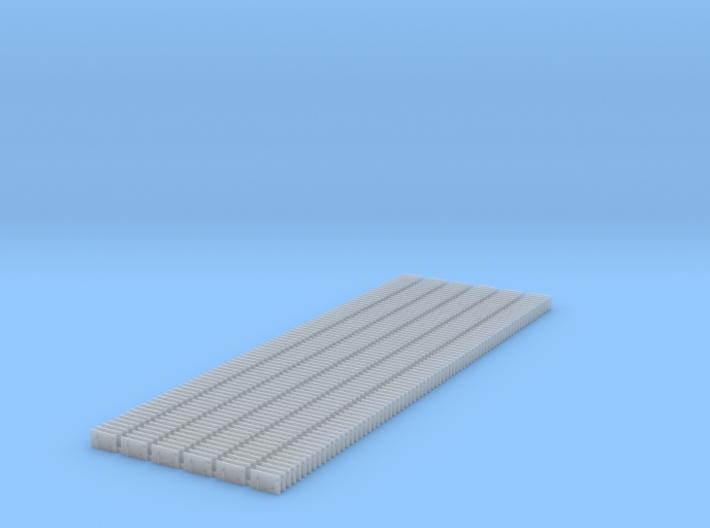 4 Hole Tieplate - Code 125 - 450 3d printed