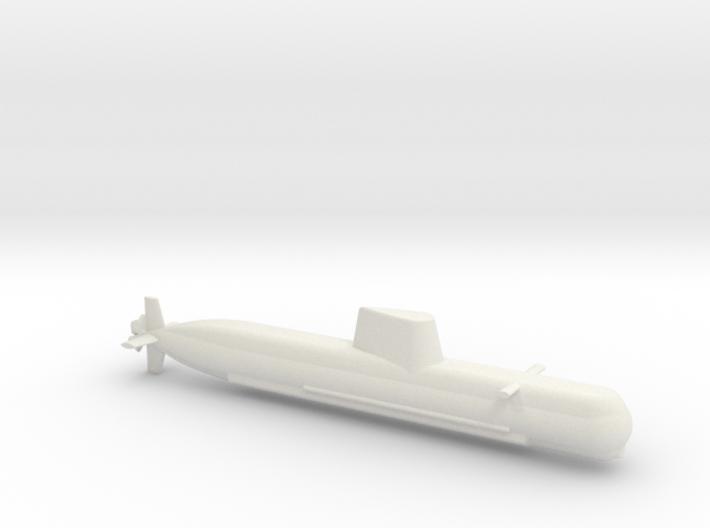 1/700 Son Won-Il (Type 214) Class Submarine 3d printed