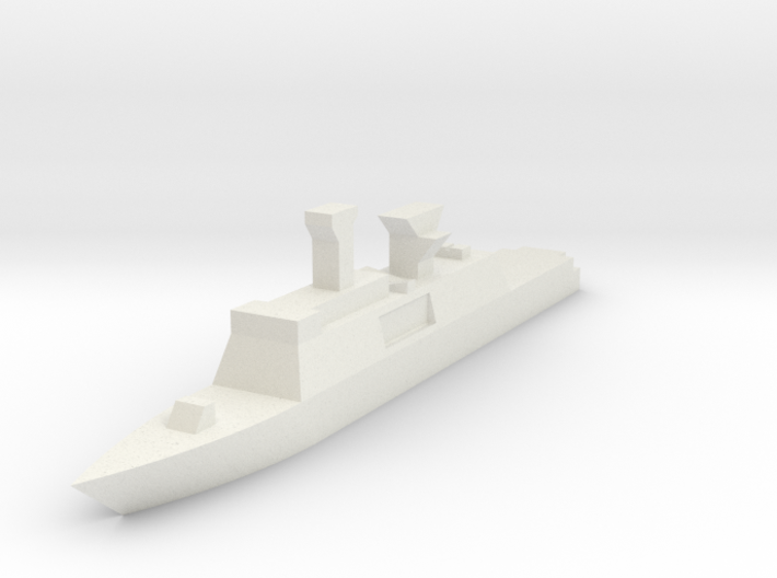 French, La Fayette class 3d printed