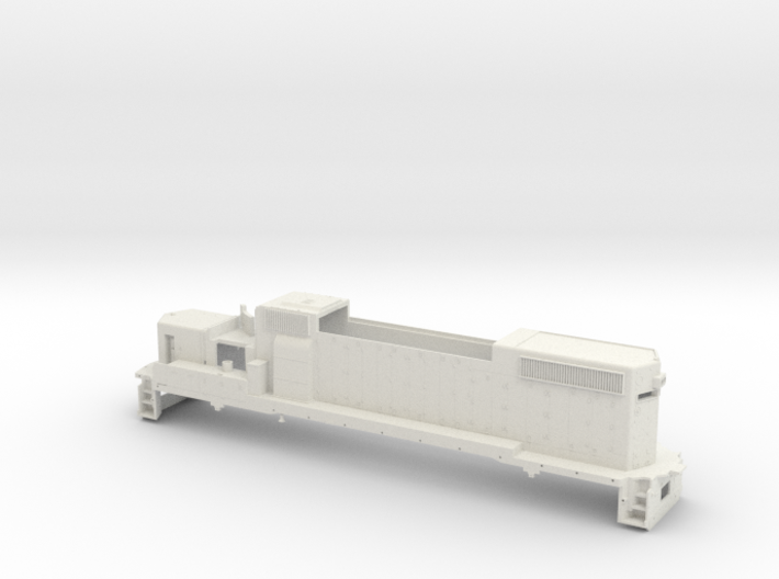 GP38 2 Locomotive Body Only O Scale 3d printed
