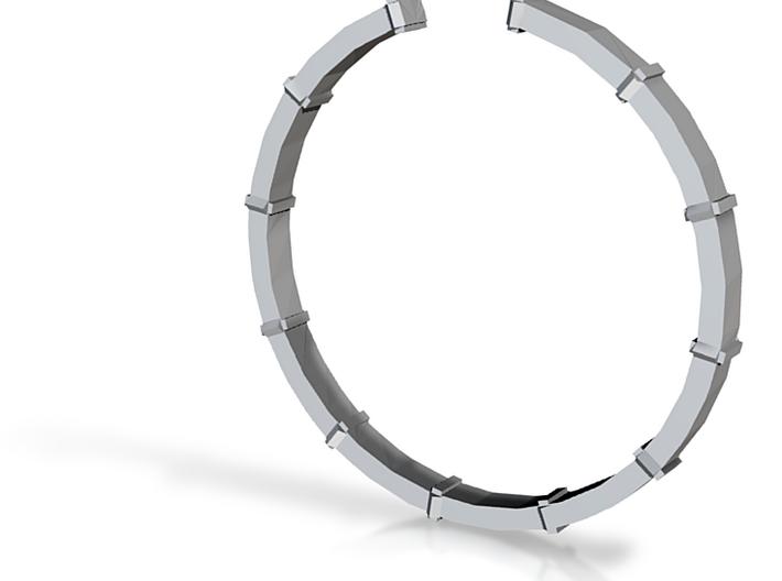 Pandora's Box Ring - Sz. 7 3d printed