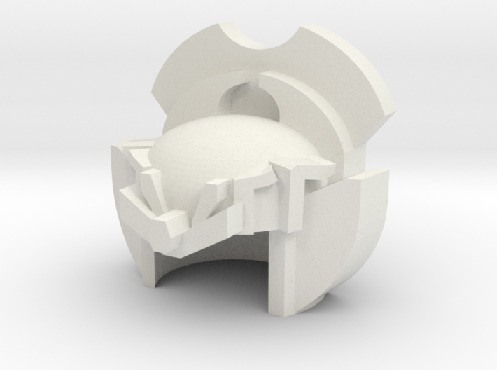 Robohelmet: Blustery Edge 3d printed