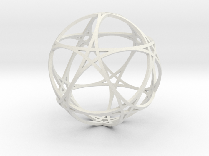 Pentragram Dodecahedron 1 (narrowest) 3d printed