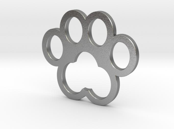 Cat Paw Pendant Head - 32_32_2-3_s48_vec 3d printed