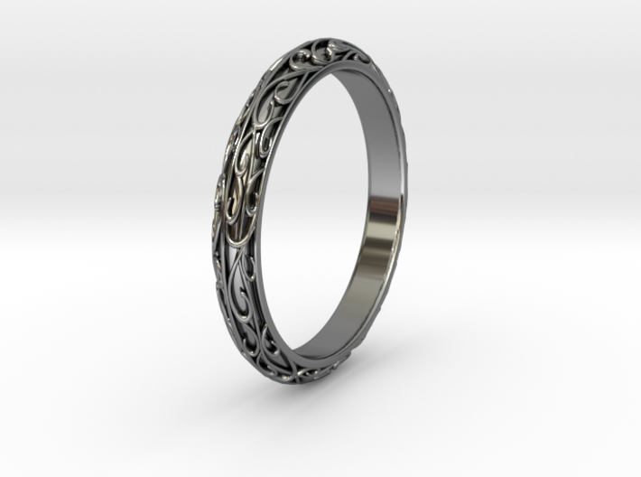arabesque US-Ring-size9(JP-size-#18) 3d printed