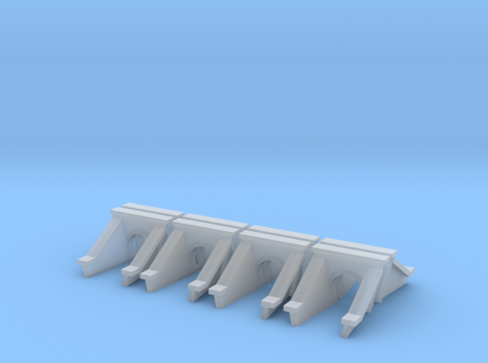 3 Foot Concrete Culvert HO Scale X 8 3d printed