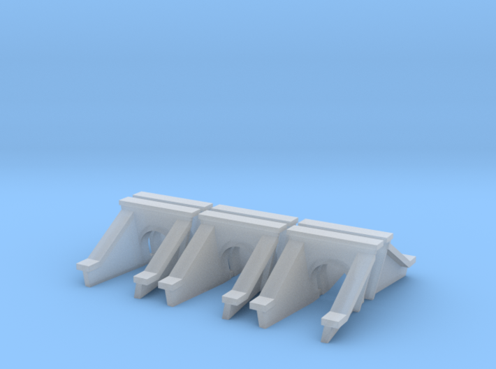 3 Foot Concrete Culvert HO Scale X 6 3d printed