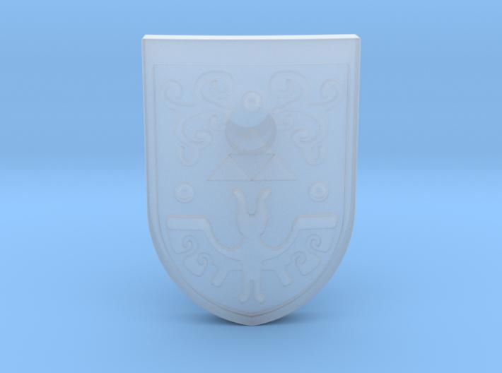 Toon Hero's Shield 3d printed