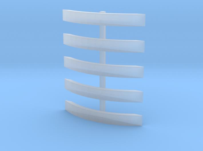NER 1001 splashers 3d printed