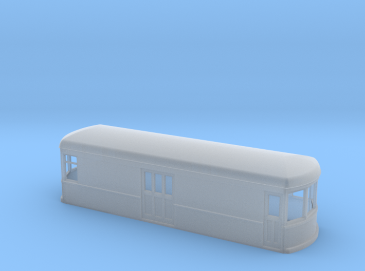 N gauge short trolley freight-motor 1 3d printed