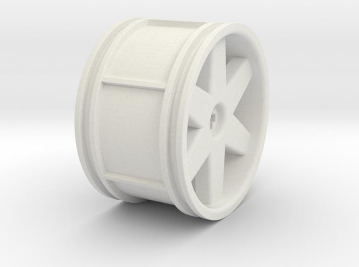 6 spoke Small 3d printed