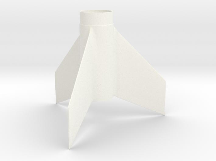 Custom Fin Unit- 3 fins Swept Taper 3d printed