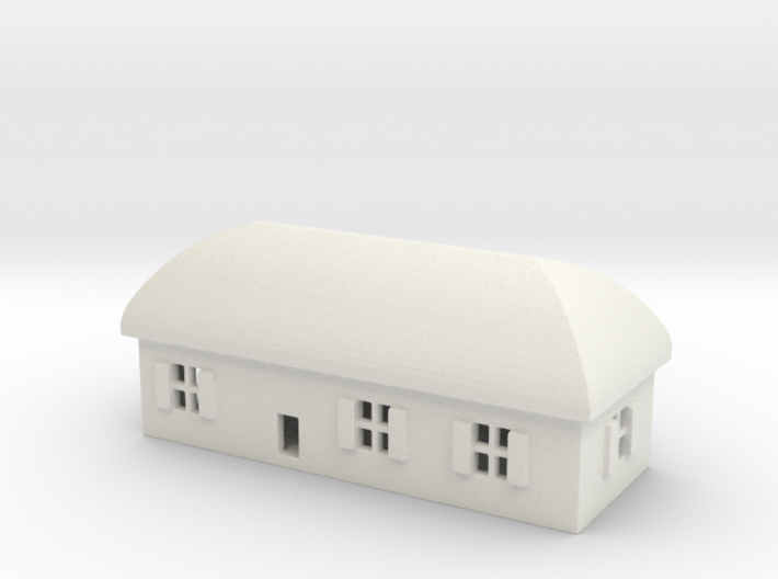 1/700 Villiage House 1 3d printed