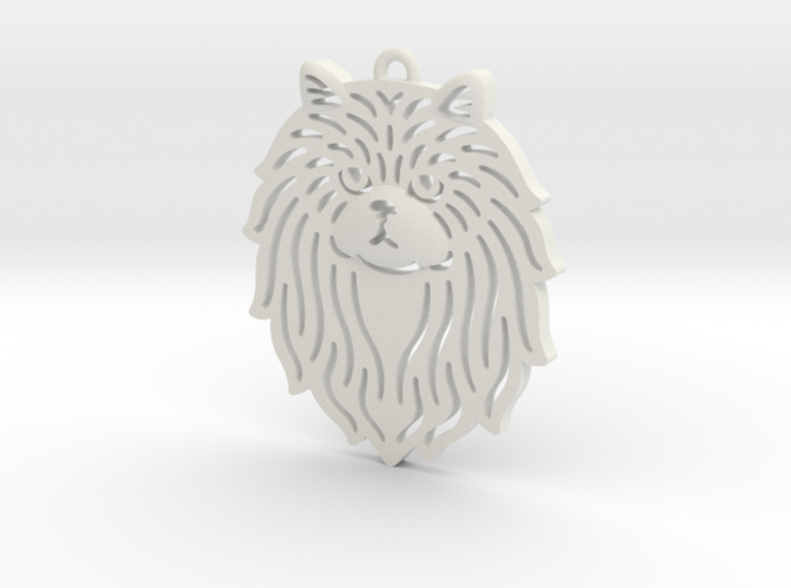 Cute pet pendant 3d printed