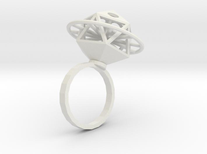 Ring Ikosahedron 3d printed