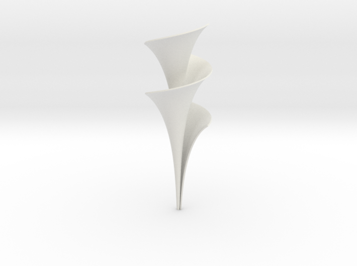 Dini Surface - Entdeckerbox version 3d printed