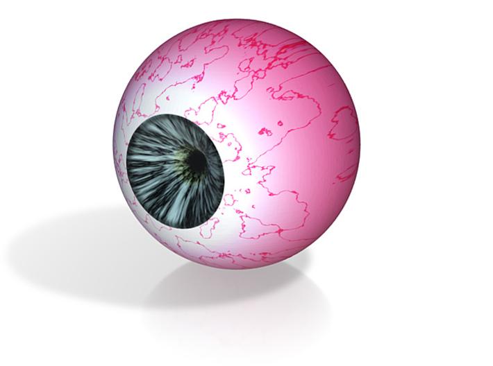 """Blue Eye 1"""" Div4 3d printed"""