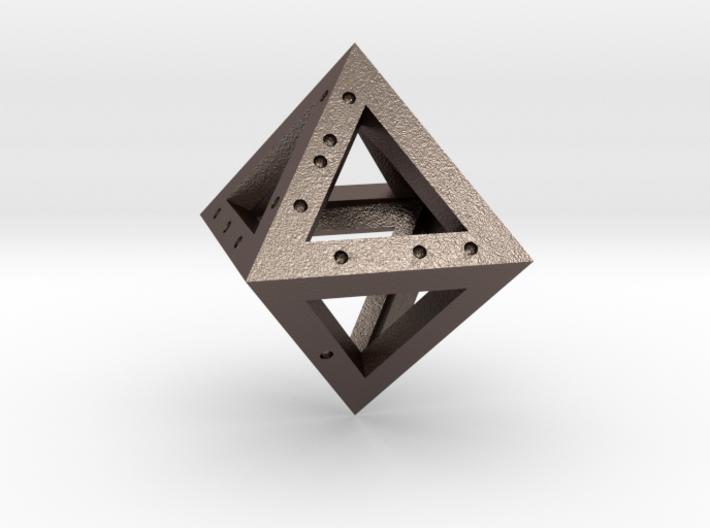 DICE - D8 - 0.3 mm 3d printed
