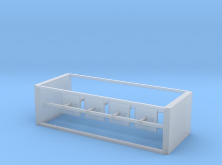 4 N Scale European Signal Counterweights 3d printed