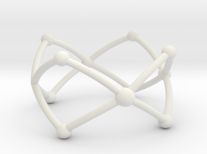 Frustrated Chain ring larger 3d printed