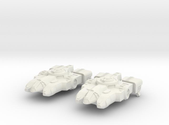 Tahae Tiriti Light Freighter 2x 3d printed