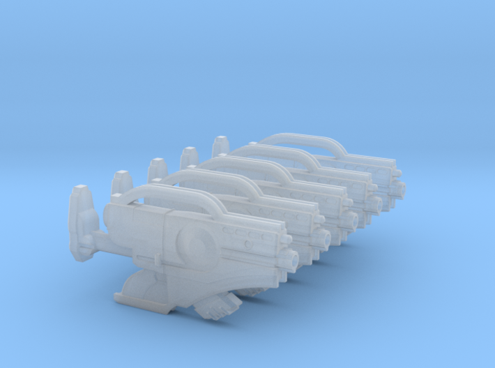 MK1 - Magnetic Accelerator Rifle 001a (x5) 3d printed