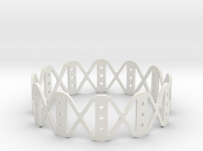 [Flextest] Criss Cross Style Bangle 3d printed