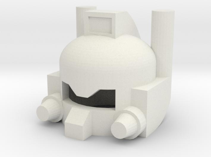 Robothelmet: Chopper 3d printed