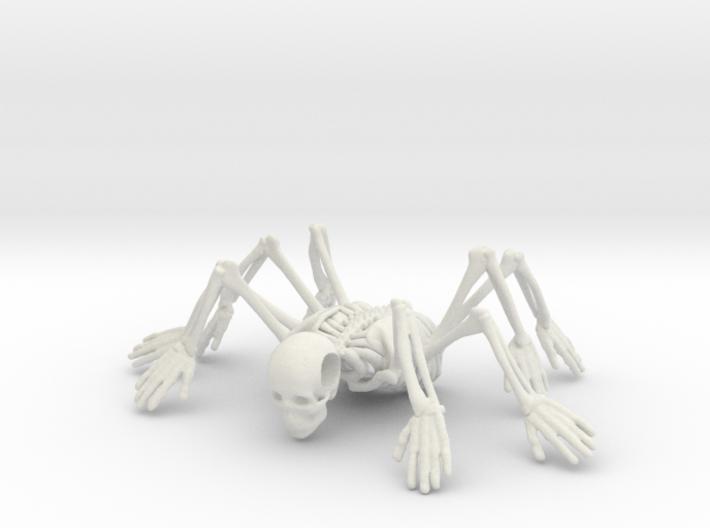 Skeleton spiderMan 3d printed