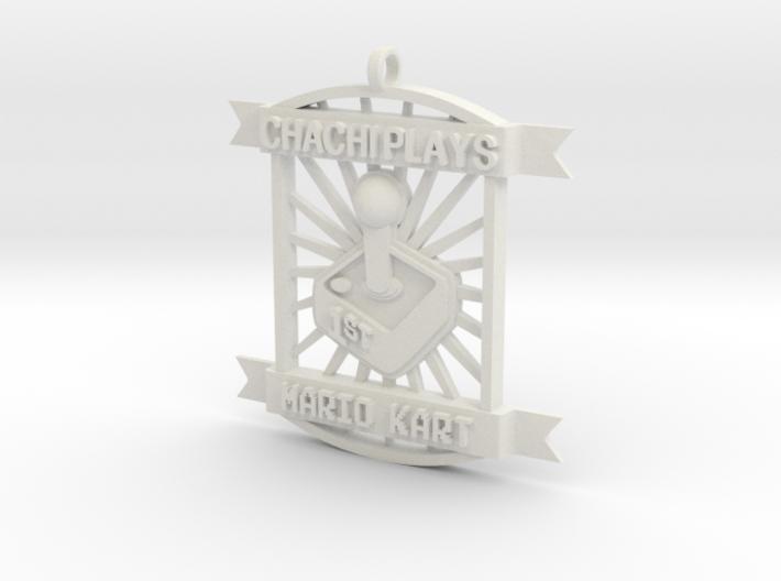 ChachiPlays MarioKart 1stPlace 3d printed