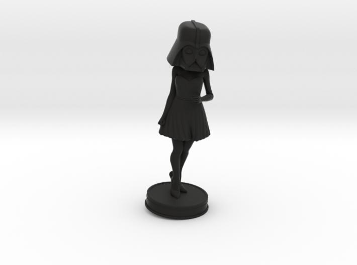 Vader Woman 3d printed