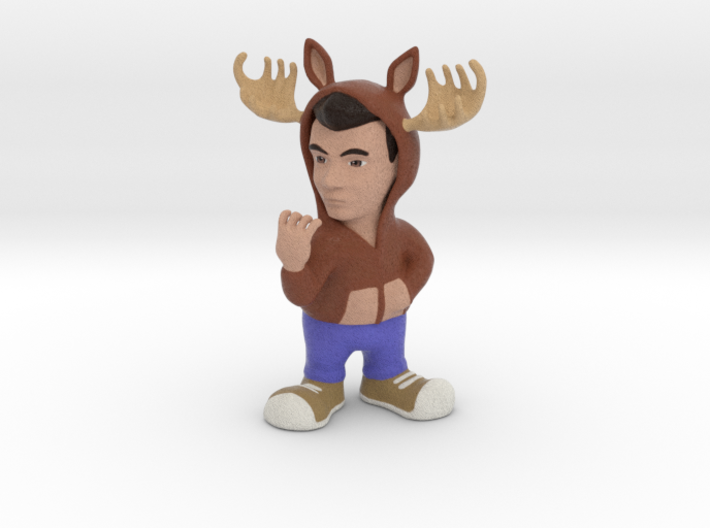 GhostFacers Harry (Moose Hoodie) 3d printed