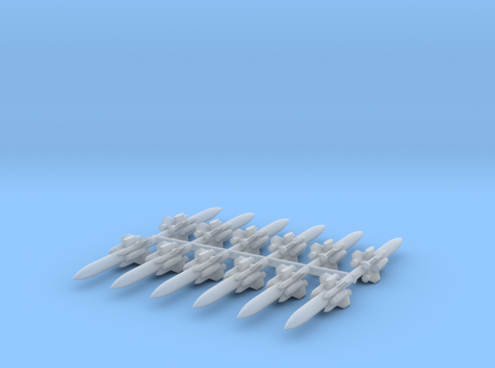 1/700 C-101 (FL-2) Eagle Strike Missile (x12) 3d printed