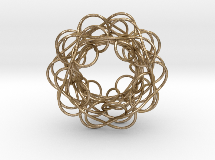 Complex Knot 3d printed