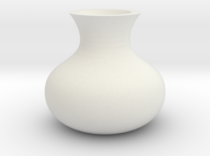(FLEXTEST) Wilt vase, for those who forget to wate 3d printed