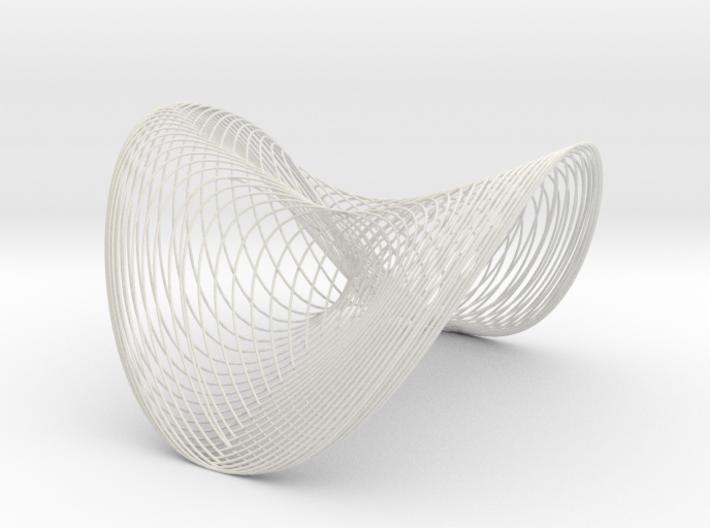 Woven Wobble - flextest 3d printed