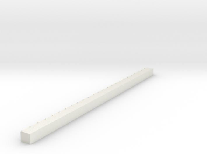 1/700 Single Span Concrete Dock 3d printed