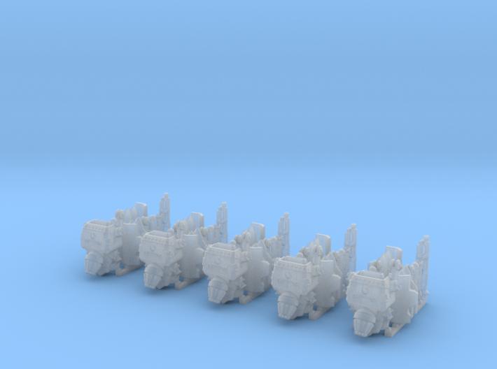 Helghast Jump Pack (x5) 3d printed