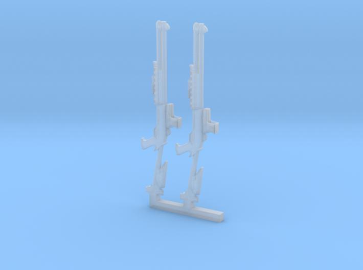 2xShotgun 3d printed