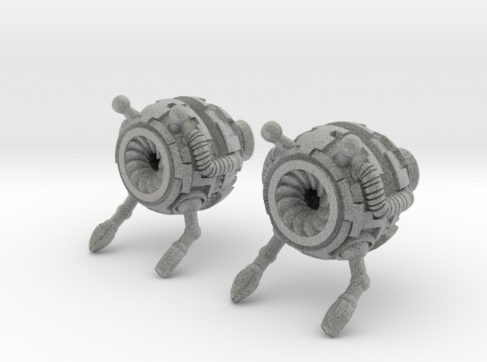 Bot Earrings 3d printed