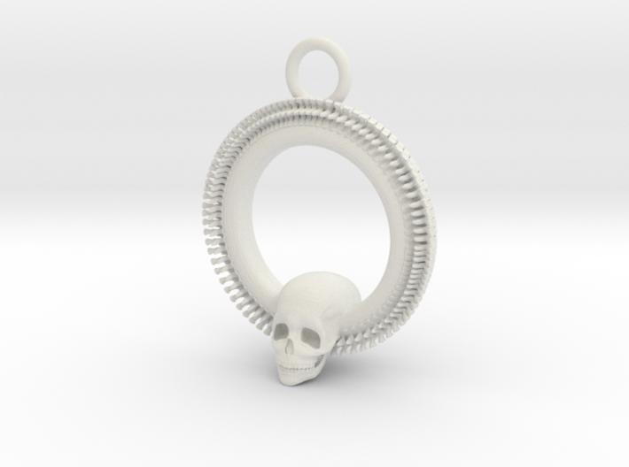 SkullPendant 3d printed