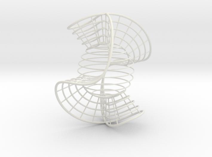Nodal Cubic 3.5 inch 3d printed