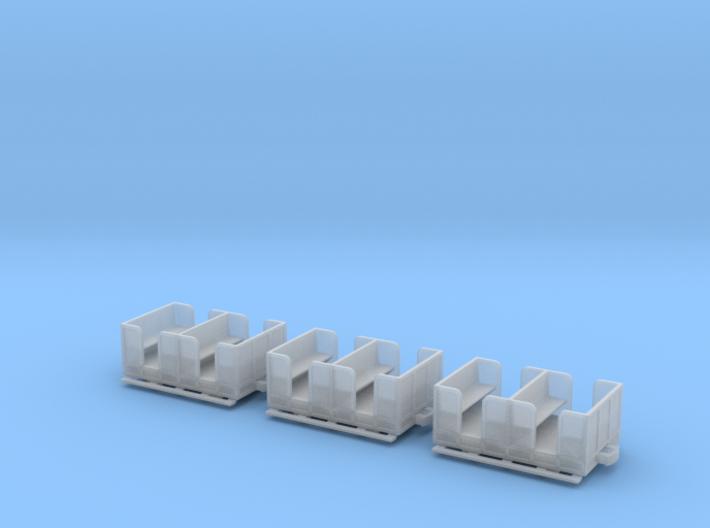 IJ'sH Nn3 Open Passenger 10ft x 6ft 6in (3 off) 3d printed